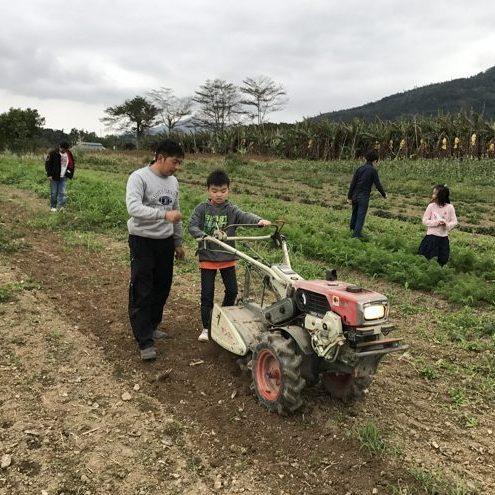 友善耕作翻翻土食農體驗